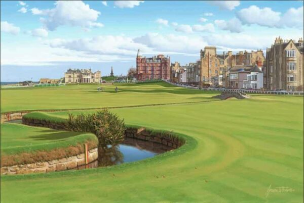 St Andrews 2005 Open Official Limited Edition